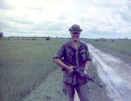 LT Brainerd on outpost road.